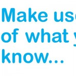 Fostering children in Essex & Suffolk - Make use of what you know...