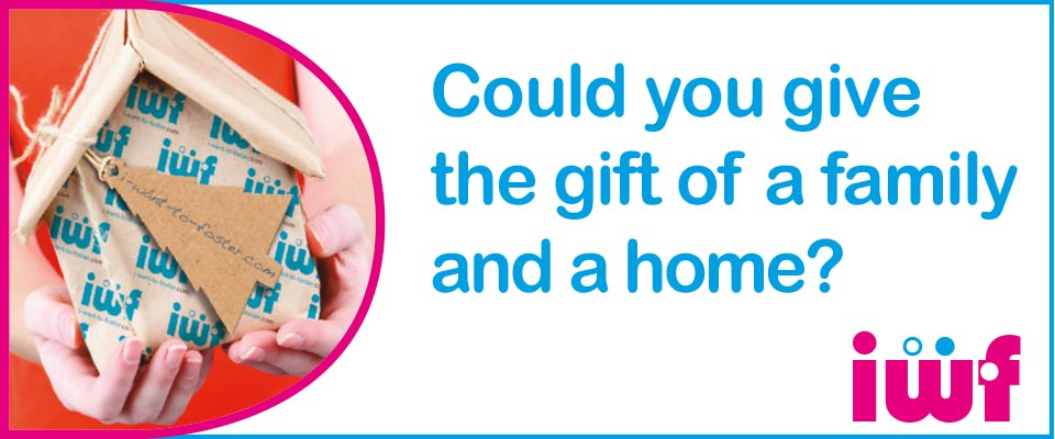 Could you give the gift of a family and a home to a foster child this Christmas?