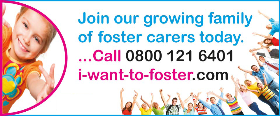 Join our growing family of foster carers today - call 0800 121 6401 today